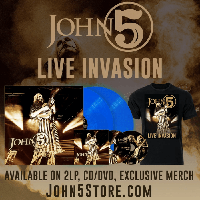 John 5 And The Creatures - Live Invasion - Album Cover