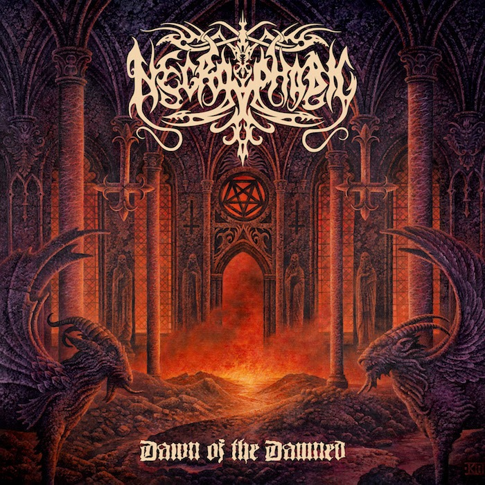 Necrophobic - Dawn Of The Damned - Album Cover