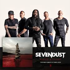 Sevendust - Blood Stone - Album Cover