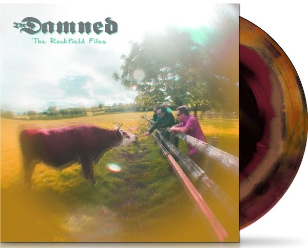 The Damned - The Rockfield Files - EP Cover