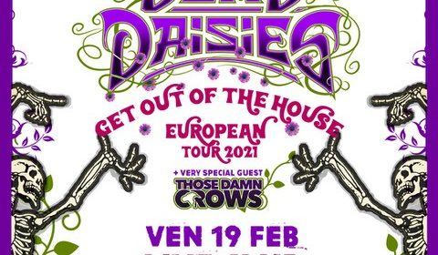 The Dead Daisies - Live Club - Italian Tour 2021 - Promo