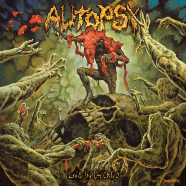 Autopsy - Live In Chicago - Album Cover