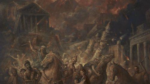 Dark Quarterer - Pompei - Album Cover