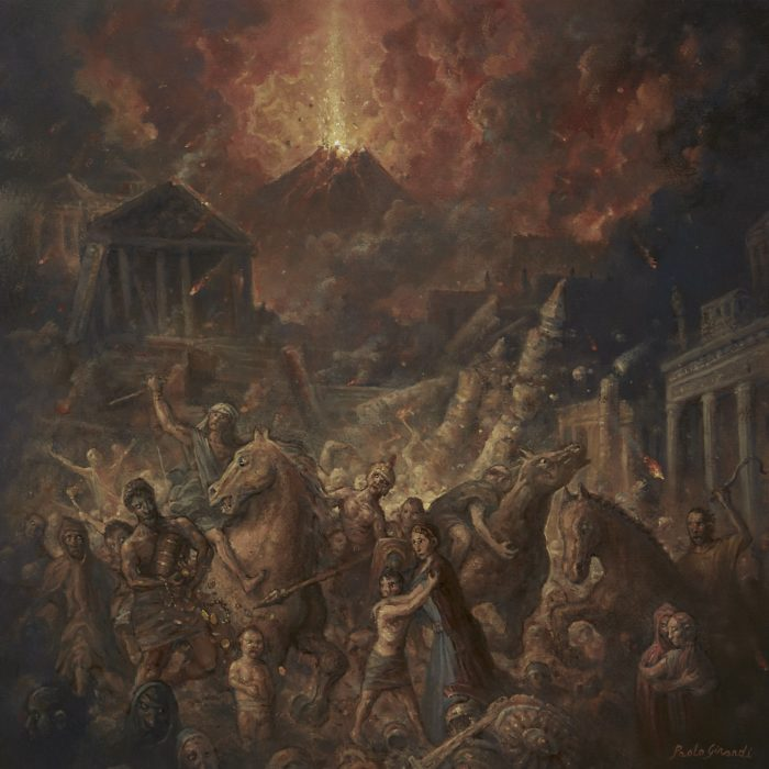 Dark Quarterer - Pompei - Album Cover