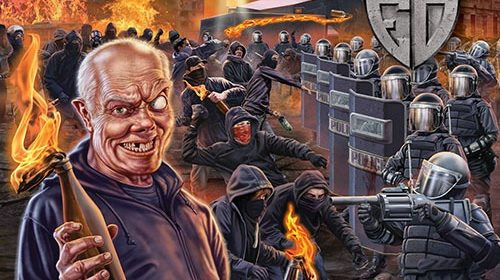 Evildead - United States Of Anarchy - Album Cover