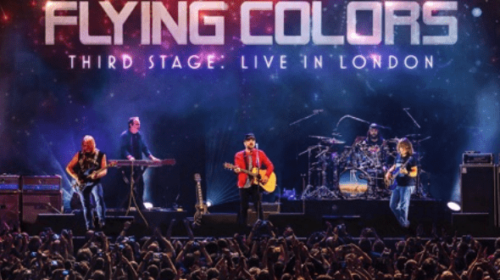 Flying Colors - Third Stage Live In London - Album Cover