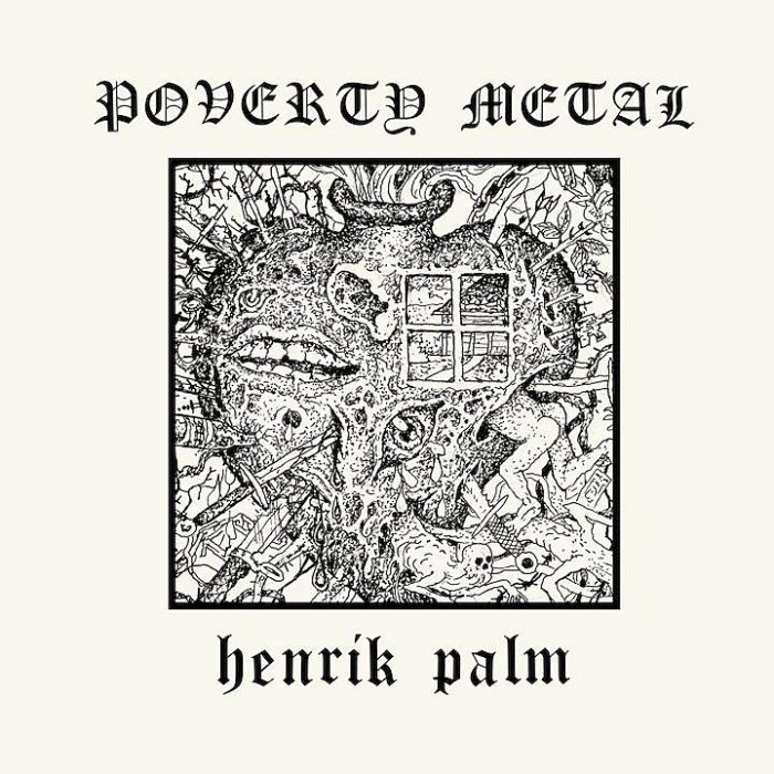 Henrik Palm - Poverty Metal - Album Cover