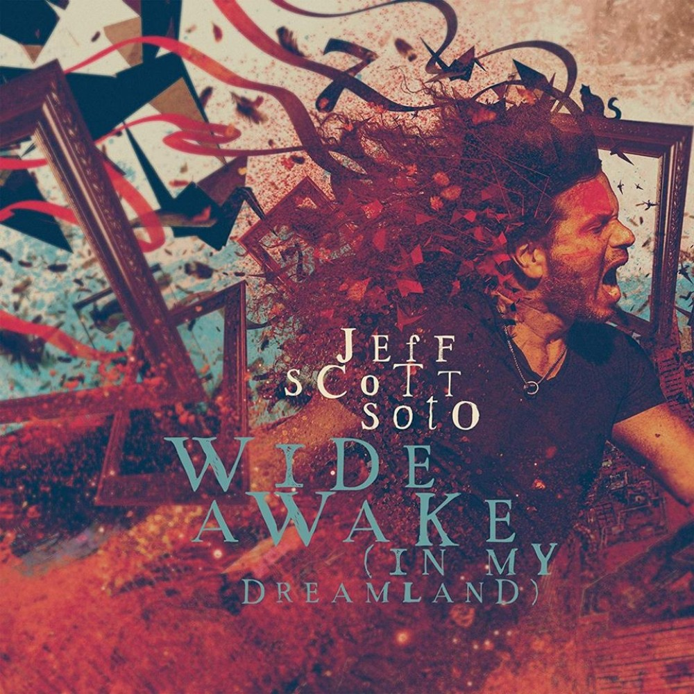 Jeff Scott Soto - Wide Awake In My Dreamland - Album Cover
