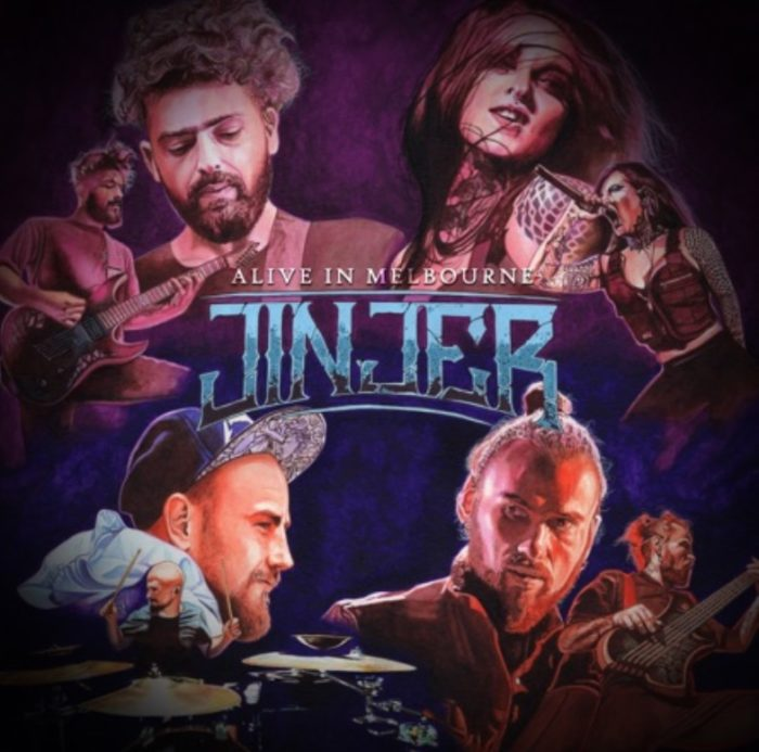 Jinjer - Alive In Melbourne - Album Cover