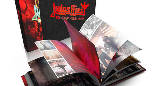 Judas Priest - Judas Priest 50 Heavy Metal Years - Book Cover