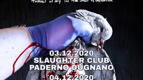Napalm Death - Italian Tour 2020 - Promo
