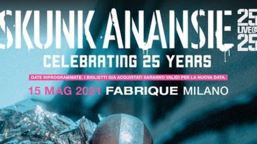 Skunk Anansie - Celebrating 25 Years - Fabrique - Milano 2020 - Promo