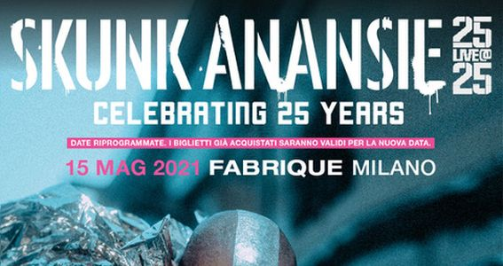 Skunk Anansie - Celebrating 25 Years - Fabrique - Milano 2020 - Promo