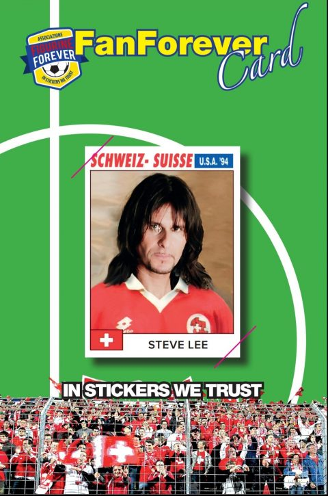 Steve Lee - In Stickers We Trust - Figurina Commemorativa