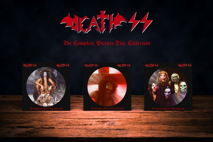 Death SS - The Complete Picture Disc Collection - Picture Disc Cover