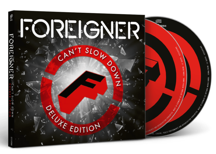 Foreigner - Can't Slow Down - Deluxe Edition Cover