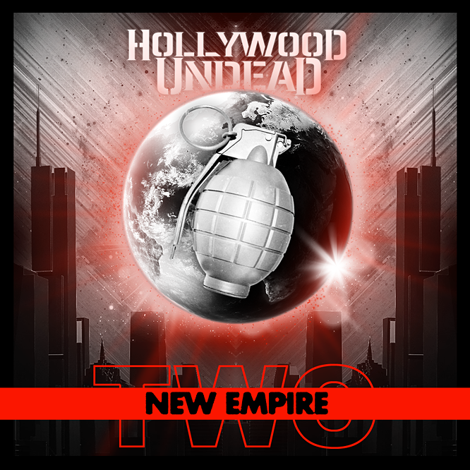 Hollywood Undead - New Empire - Album Cover