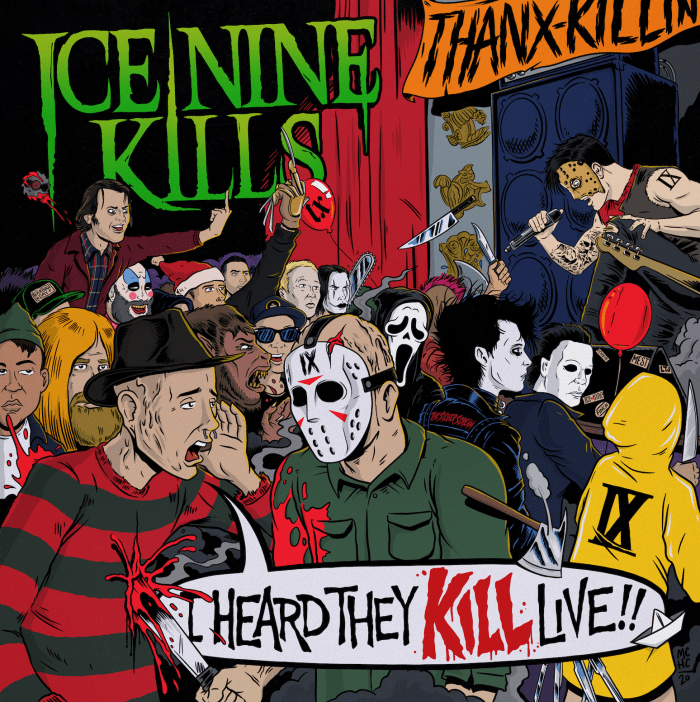 Ice Nine Kills - I Heard They Kill Live - Album Cover