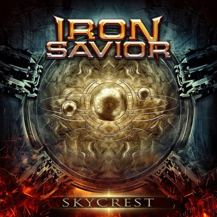 Iron Savior - Skycrest - Album Cover
