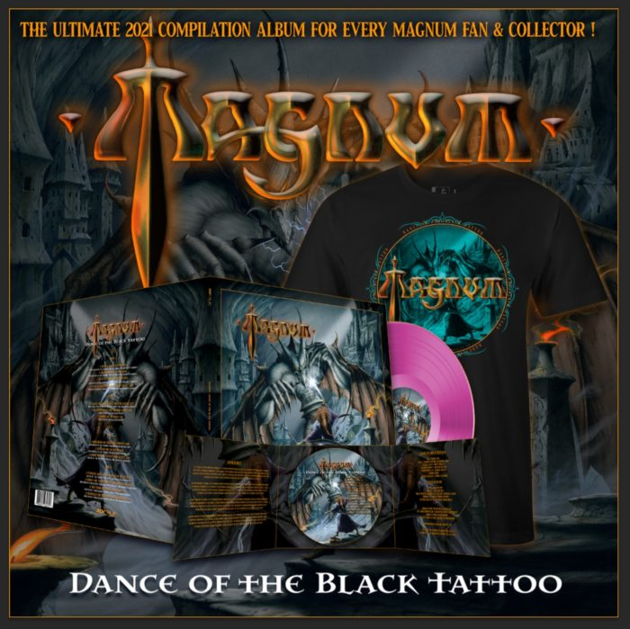 Magnum - Dance Of The Black Tattoo - Album Cover