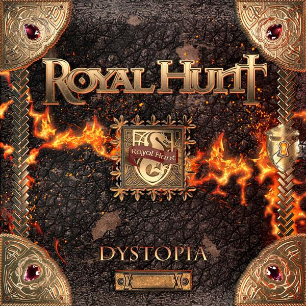 Royal Hunt - Dystopia - Album Cover