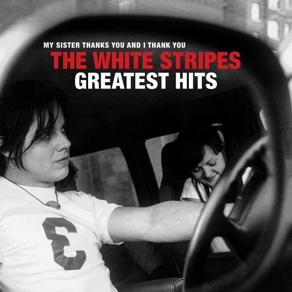 The White Stripes - The White Stripes Greatest Hits - Album Cover