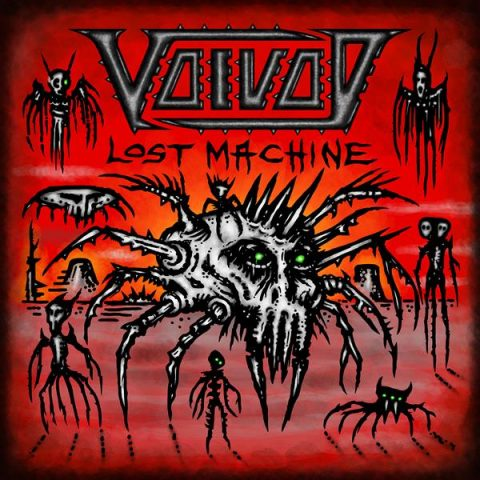 Voivod - Lost Machine - Album Cover