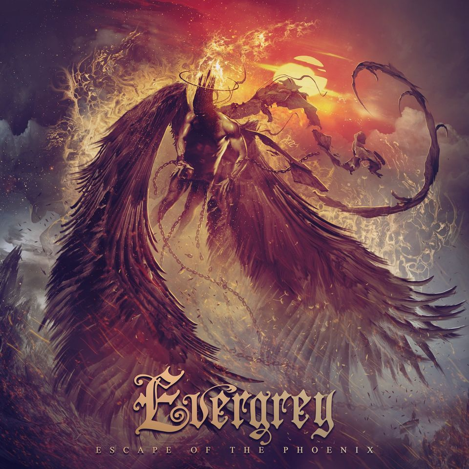 Evergrey - Escape Of The Phoenix - Album Cover