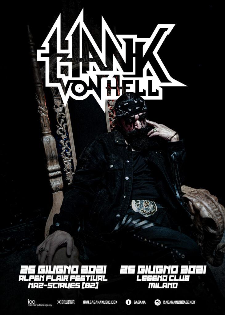 Hank Von Hell - Italian Tour 2021 - Promo