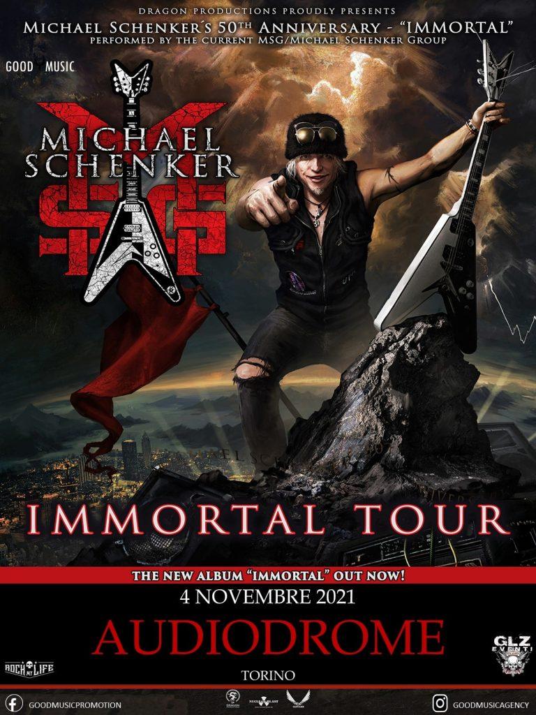Michael Schenker Group - Audiodrome Live Club - Torino - Immortal Tour 20121 - Promo