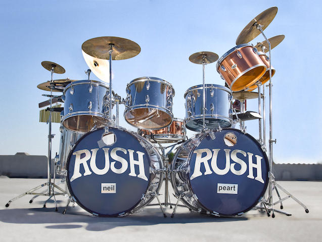 Neal Peart - Rush - Drum Cover