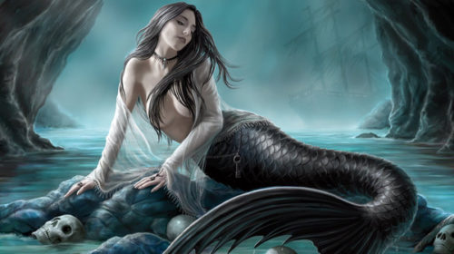 Sirenia - Perils Of The Deep Blue - Album Cover