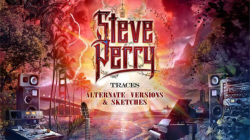Steve Perry - Traces Alternative Versions Sketches -Album Cover