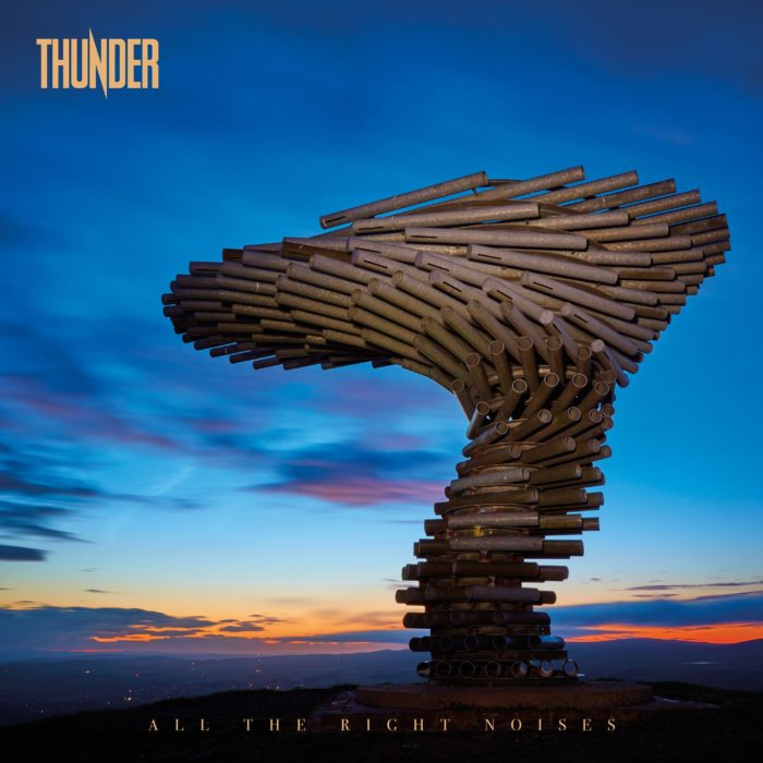 Thunder - ALL The Right Noises - Album Cover