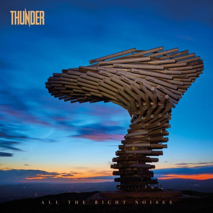 Thunder - ALL The Right Noises - Album Cover