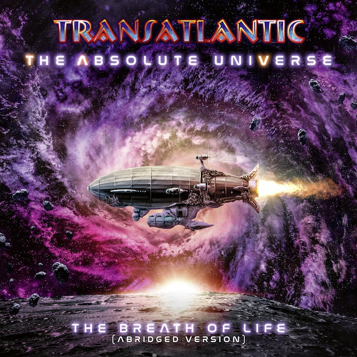 Transatlantic - The Absolute Universe The Breath Of Life - Album Cover