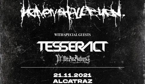 Trivium - Heaven Shall Burn - Tesseract - Fit For An Autopsy - Alcatraz - Italian Tour 2021 - Promo