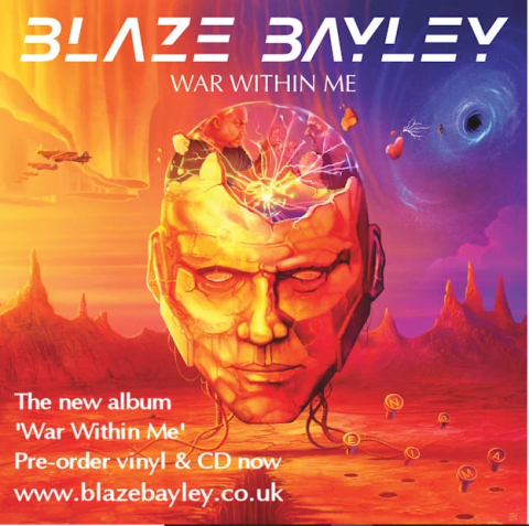 Blaze Bayley - War Within Me - Album Cover