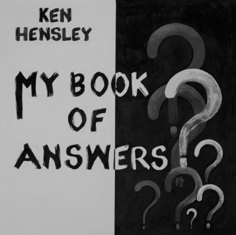 Ken Hensley - My Book Of Answers - Album Cover
