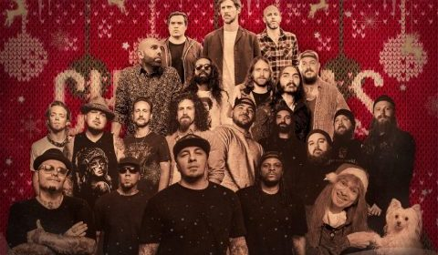 Mascot Records - Christmas Rock - Album Cover