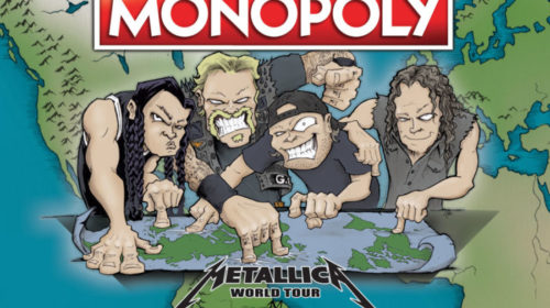Metallica Monopoly World Tour - Game Cover