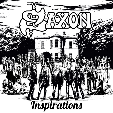 Saxon - Inspirations - Album Cover
