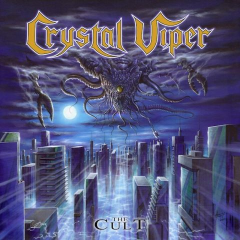 Crystal Viper - The Cult - Album Cover