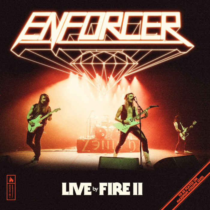 Enforcer - Live By Fire II - Album Cover