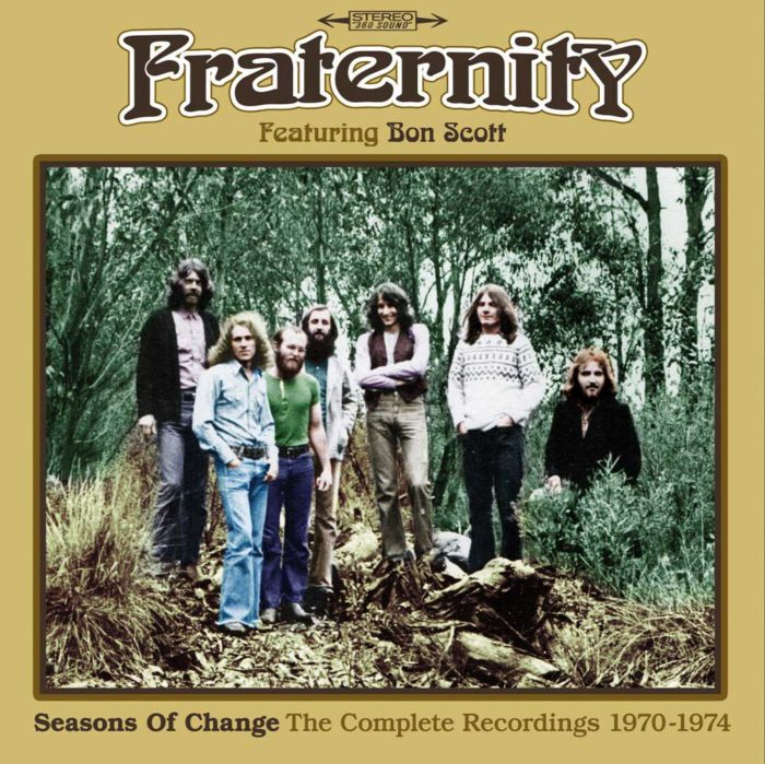 Fraternity - Seasons Of Change The Complete Recordings 1970 - 1974 - Box Cover