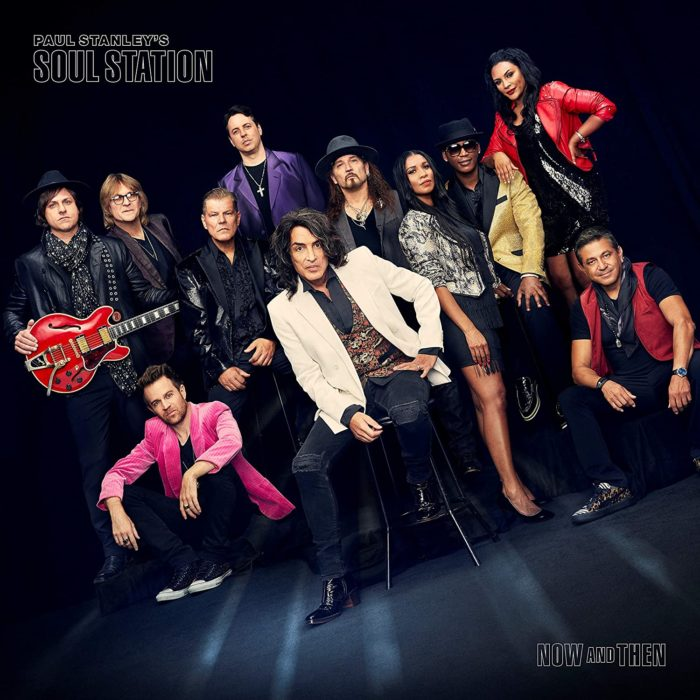 Paul Stanley's Soul Station - Now And Then - Album Cover