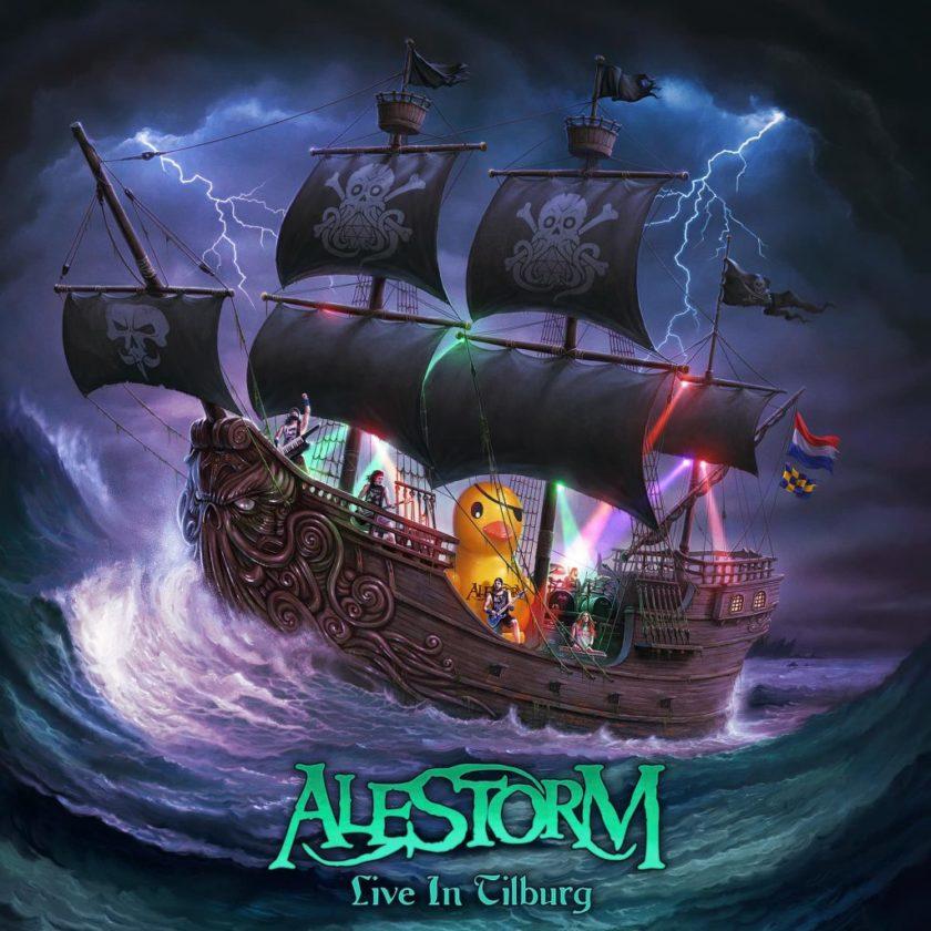 Alestorm - Live In Tilburg - Album Cover