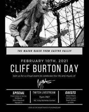 Cliff Burton Day 2021 - Promo
