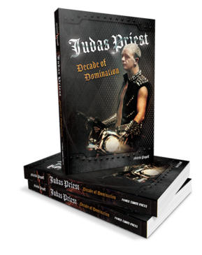 Judas Priest - Judas Priest - Decade Of Domination - Book Cover