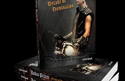 Judas Priest - Judas Priest - Decade Of Domination - Book Cover